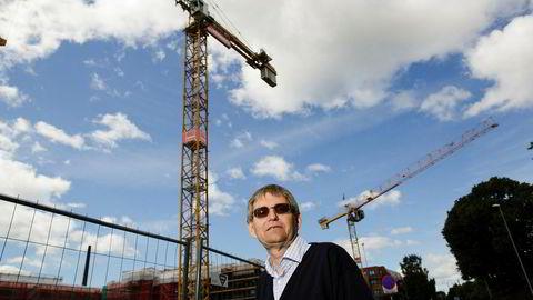 Administrerende direktør Per Jæger i Boligprodusentenes Forening. Foto: Gunnar Blöndal