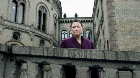 Heidi Nordby Lunde (H) var saksordfører for forslaget om ny offentlig tjenestepensjon som ble vedtatt i Stortinget denne uken.