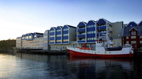 Brønnøysundregistrene fra sjøsiden. Arkivfoto: Gorm Kallestad / NTB scanpix