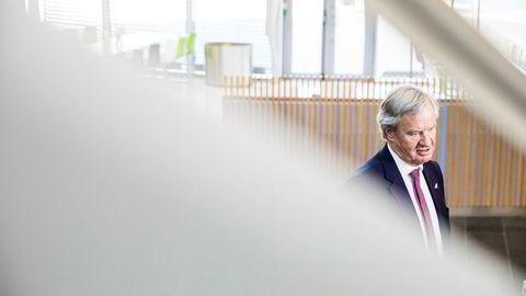 Norwegian-sjef Bjørn Kjos tror blokkjedeteknologi vil revolusjonere flyindustrien internasjonalt. Foto: Gunnar Lier