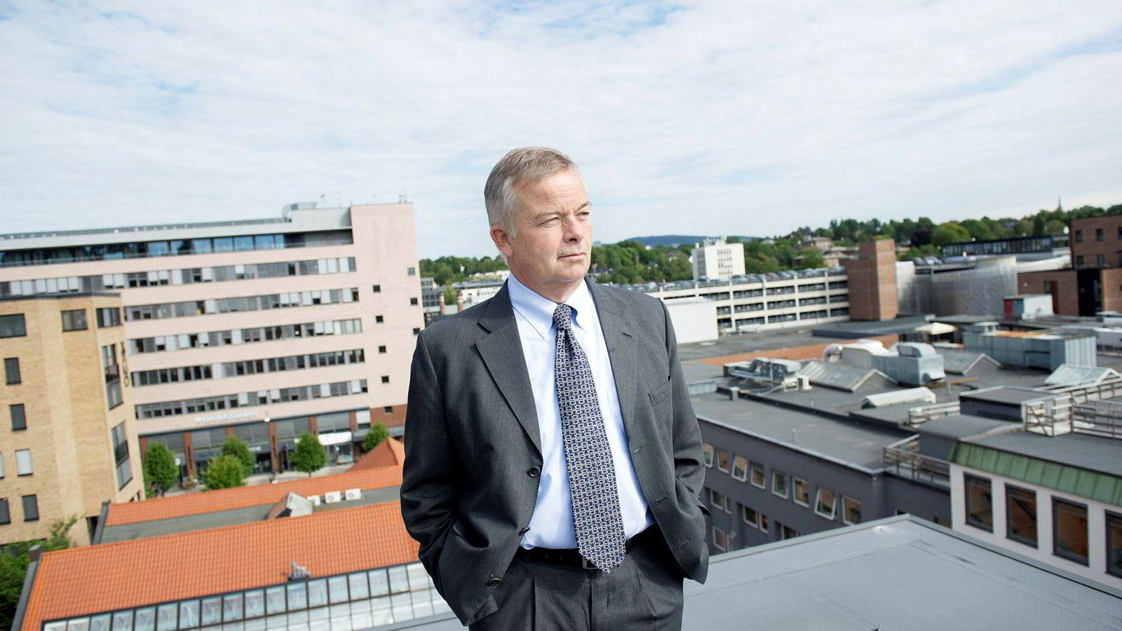 Konsernsjef Arne Giske i Veidekke går av etter seks år som toppsjef.