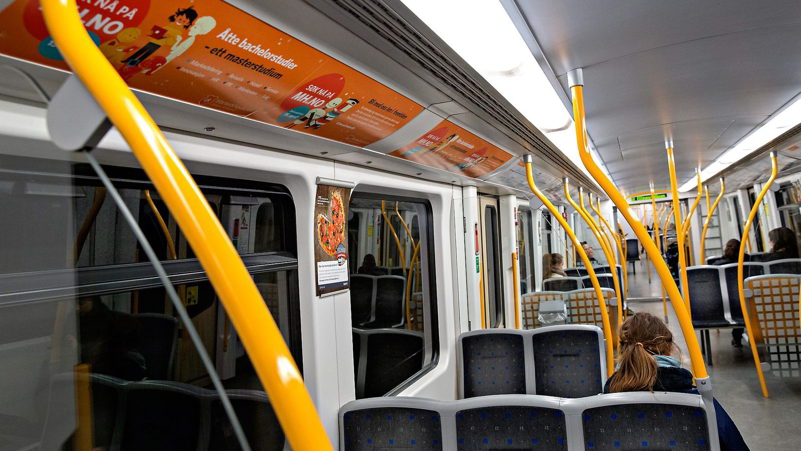 Det blir store endringer i rutetider på T-banenettet i Oslo lørdag. Foto: Aleksander Nordahl
