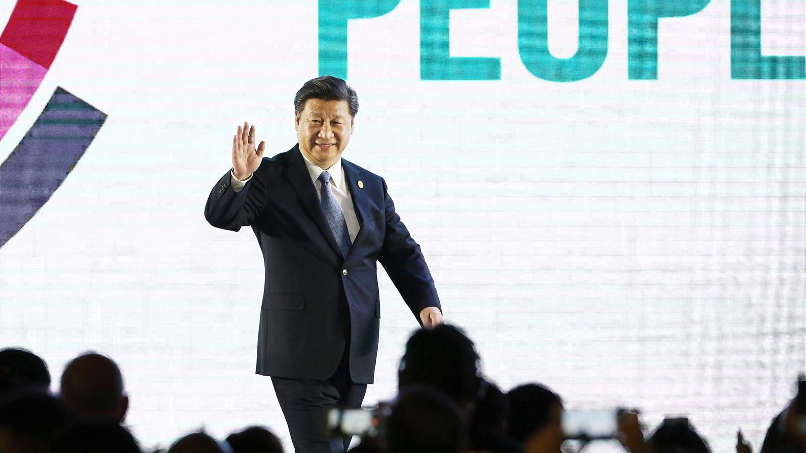 Kina og president Xi Jinping har en egeninteresse av å redusere utslippene for å bekjempe den alvorlig luftforurensning i landet. Foto: SeongJoon Cho,