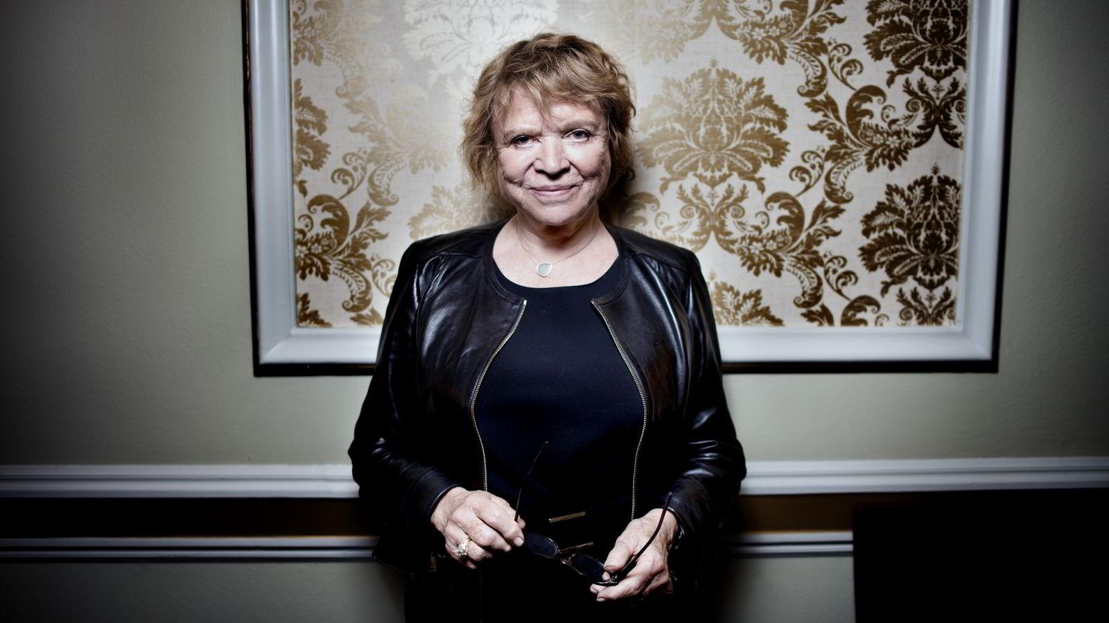 Den franske politikeren og korrupsjonseksperten Eva Joly.