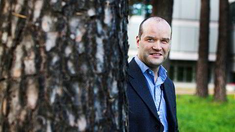 Informasjonsdirektør Halvor Molland i Hydro.