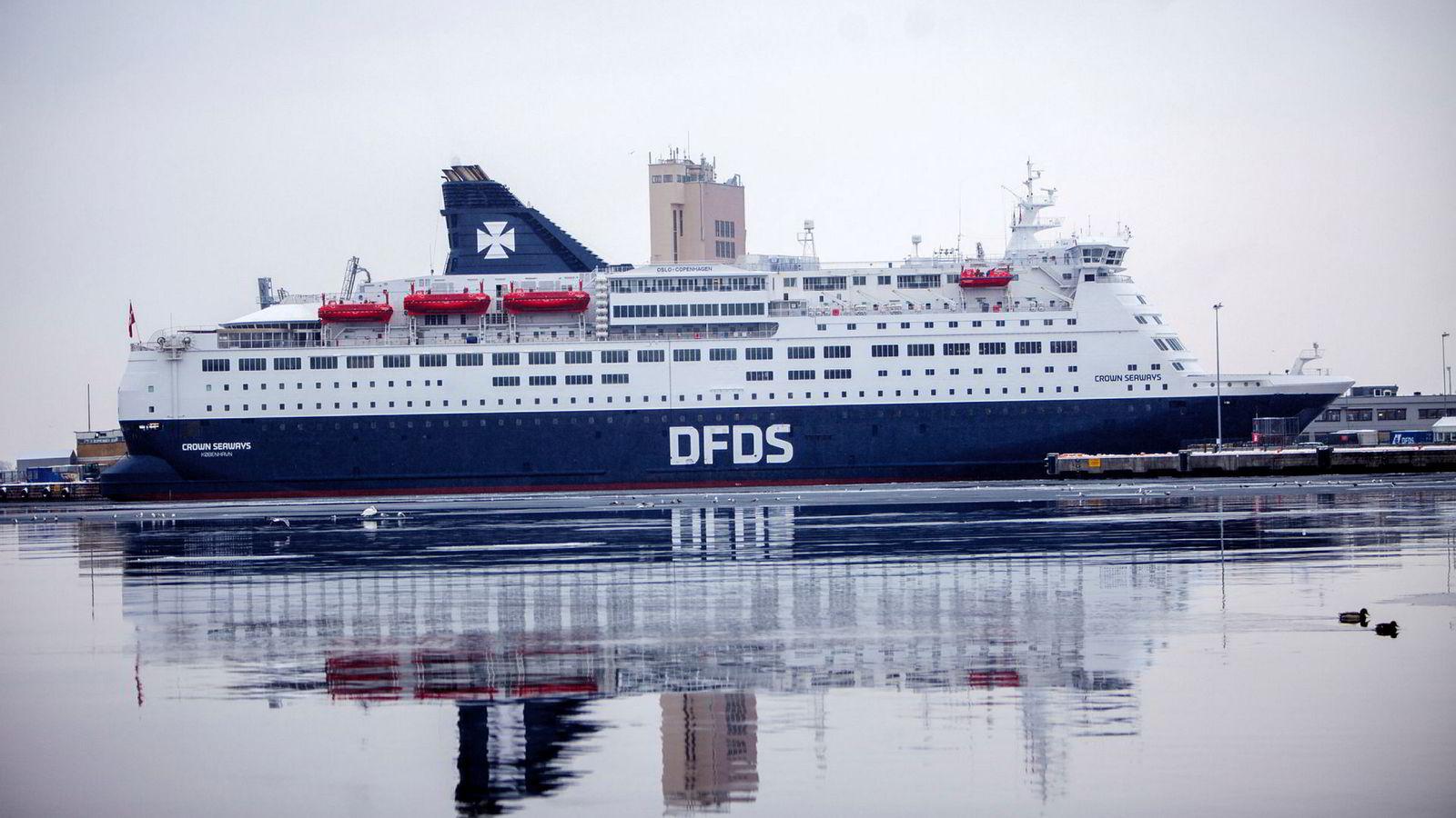 Lavere vekst for fergeselskapet DFDS
