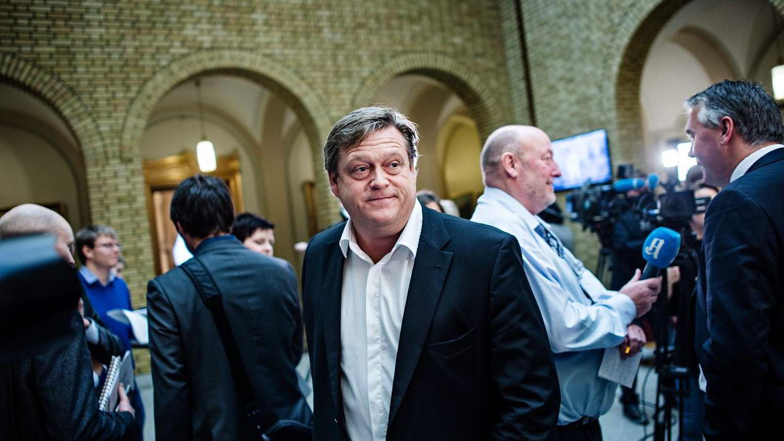 Rene Telenor-salg er ikke på tapetet nå, ifølge Frps Harald Tom Nesvik.