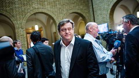 Rene Telenor-salg er ikke på tapetet nå, ifølge Frps Harald Tom Nesvik. Foto: Fartein Rudjord