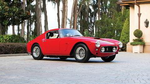 Denne Ferrari 250 GT SWB Berlinetta Competizione fra 1960 har en estimert pris på mellom 79 og 93 millioner kroner.