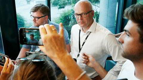 Ekstra hodebry er nå over. NRK-streiken er slutt og staben tilbake hos kringkastingssjef Thor Gjermund Eriksen.