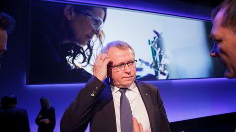 Konsernsjef Eldar Sætre i Statoil er bekymret for at flere oljegiganter forlater norsk sokkel. Foto: Javad Parsa