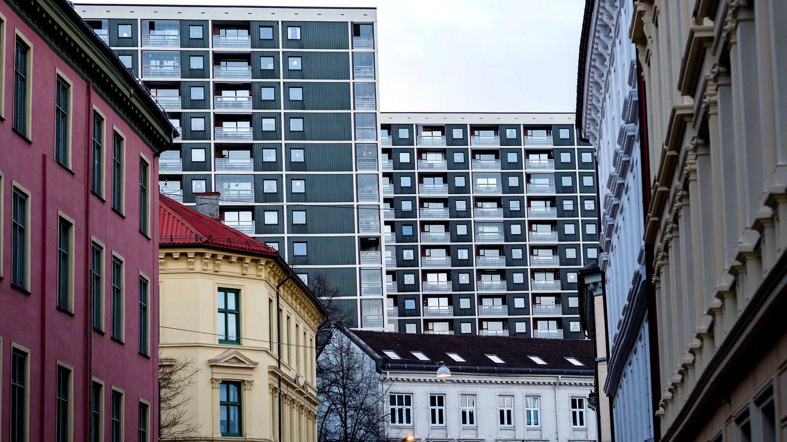 Boligprisene fikk seg et markant oppsving i fjor, spesielt i Oslo der dette bildet er tatt. Nå har det snudd, og så langt i år har prisene i hovedstaden falt med ti prosent.