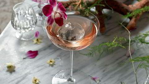 Alkoholsvak og vakker. Det skal godt gjøres å bli overstadig beruset av Anne Maurseths nyttårscocktail Alone In Kyoto.