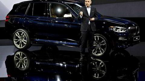 Finansdirektør Nicolas Peter i BMW sier at selskapet venter en årlig salgsøkning på opp mot 30 prosent frem til 2025.