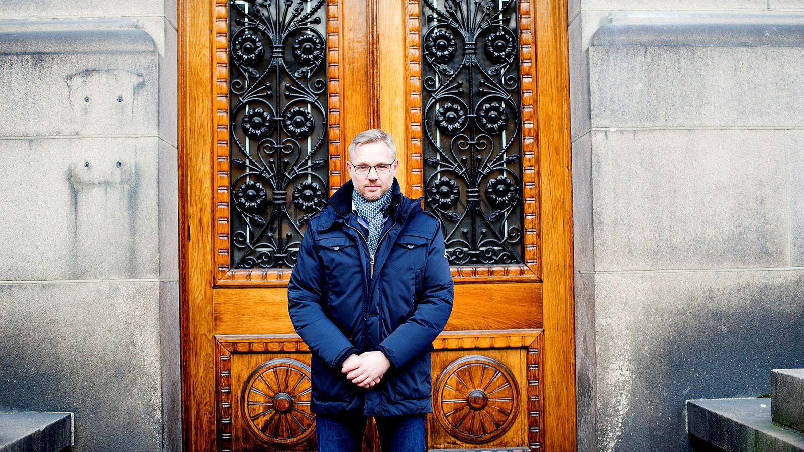 Klimarisikoutvalget presenterer 12. desember en rapport det er all grunn til å se frem til. Utvalget er bedt om å analysere hvordan Norge og norsk økonomi er utsatt for klimarisiko og hvordan vi kan analysere denne. Her utvalgsleder Martin Skancke.