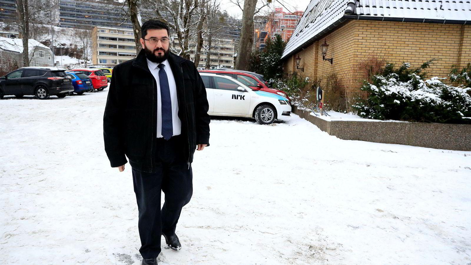 Mazyar Keshvari ble pågrepet i helgen og er siktet for grove trusler. Stortingspolitikeren nekter straffskyld.