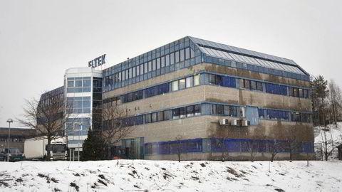 Elteks hovedkontor utenfor Drammen. Foto: Johannes Worsøe Berg
