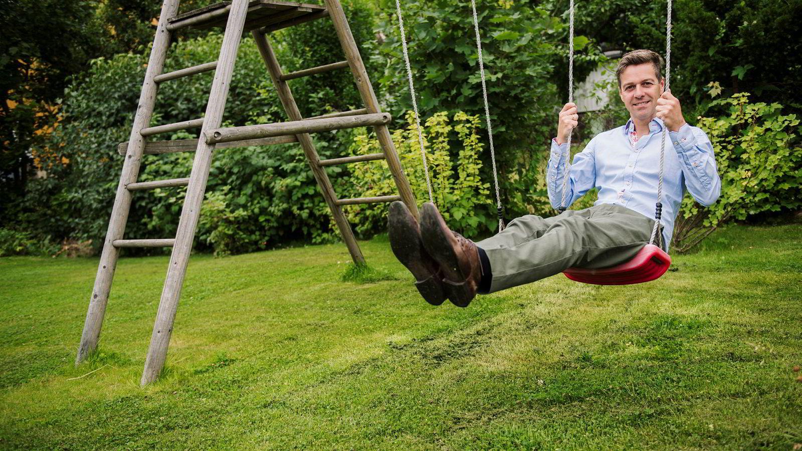 KrF-leder Knut Arild Hareide krevde reformpause for distriktene denne uken.