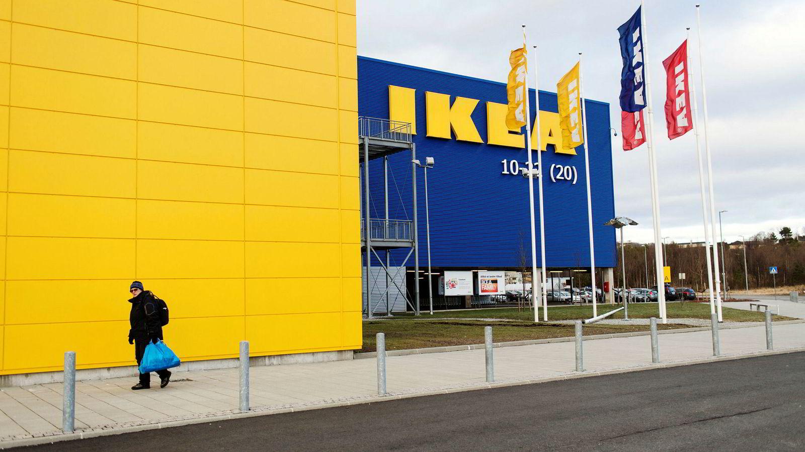 Fra Ikeas varehus i Bergen.