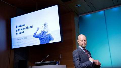 Yngve Slyngstad, sjefen for Oljefondet, er ikke den som tjener mest.
