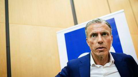 Schibsted-topp Rolv Erik Ryssdal fylte på kassen i datterselskapet i London i sommer.