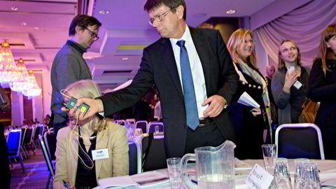 Torger Reve var rektor på Handelshøyskolen BI mellom 1997 og 2005, og har kjent Berit Kjøll i mange år. Her er han avbildet på årskonferansen til Norsk olje og gass i 2013.