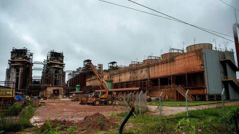Klimaendringer og tiltak mot dem, som jeg kaller klimarisiko, er reelle risikoer når du investerer i et selskap. Et eksempel er Hydros problemer i Brasil som viste at fabrikkene er utsatt for kraftigere regnskyll enn før, noe som er en forventet konsekvens av klimaendringene. Her fra Hydros Alunorte-fabrikk.
