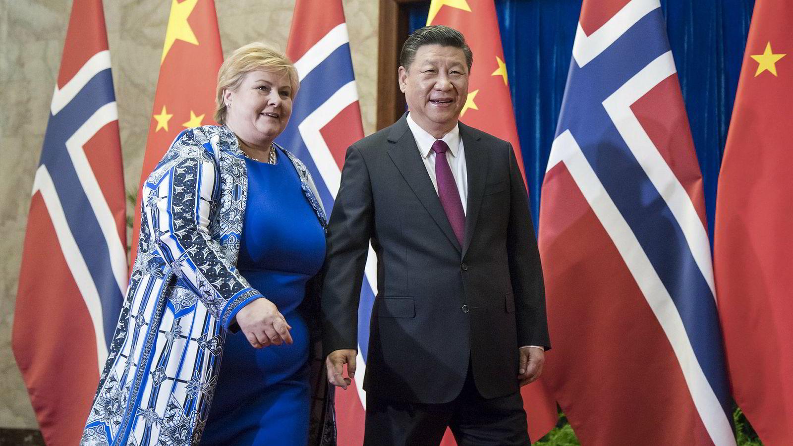 Det går en stri strøm av norske delegasjoner til Kina, i kjølvannet av at forholdet mellom landene er normalisert. Statsminister Erna Solberg besøkte Kina og president Xi Jinping i april ifjor.