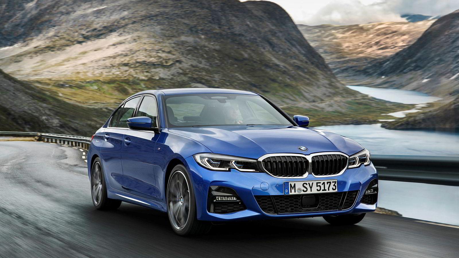BMWs nye 3-serie har allerede vært på besøk i Norge der disse promobildene ble tatt.