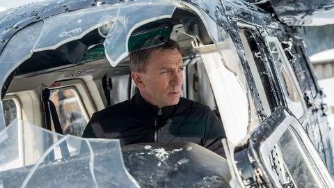 James Bonds dager som agent 007 ser tilsynelatende ut til å være talte i «Spectre». Men man trenger ikke mer enn to og en halv time på å bli noenlunde overbevist om det motsatte.                      Foto: Jonathan Olley, Filmweb
