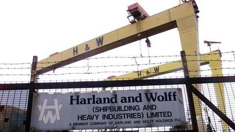 Det norskeide skipsverftet ble i fjor lagt ut for salg etter økonomiske problemer hos morselskapet Fred. Olsen & Co.