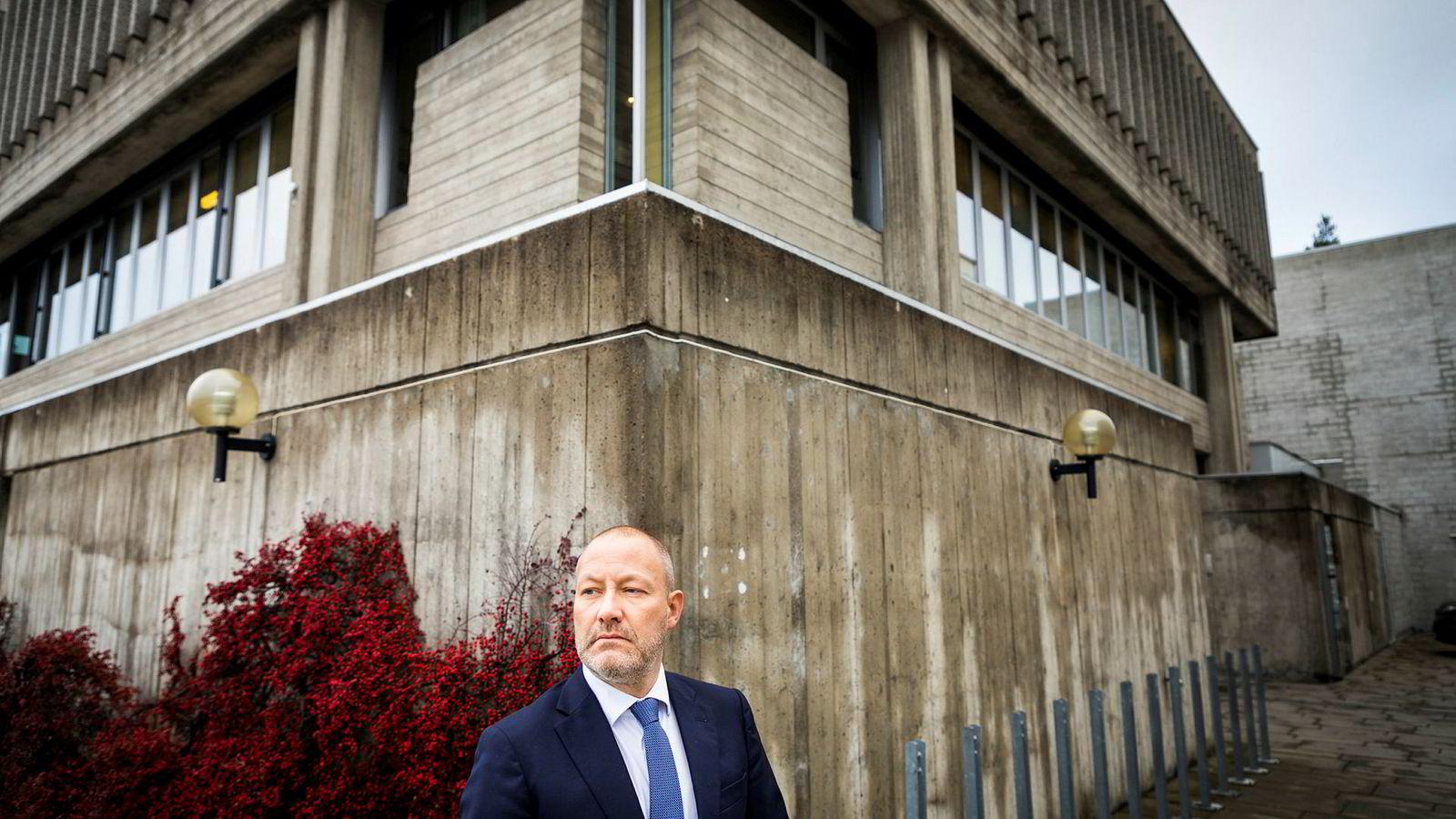 Andreas S. Christensen er advokat og bostyrer i konkursboet til Norwegian Wood.