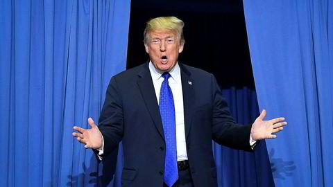 Donald Trump bryr seg ikke om den omfattende skattesnusk-saken i New York Times.