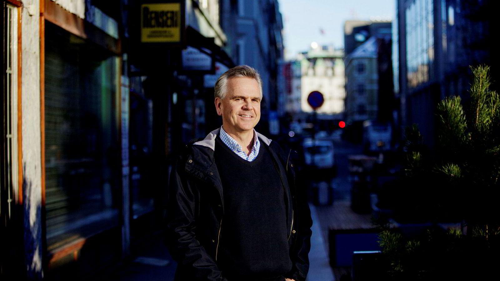 Gramo-direktør Martin Grøndahl går av.