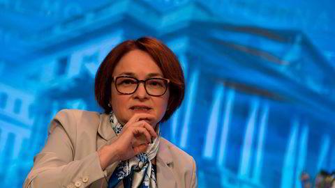 Russlands sentralbanksjef Elvira Nabiullina setter opp renten for første gang siden valutakrisen i 2014.