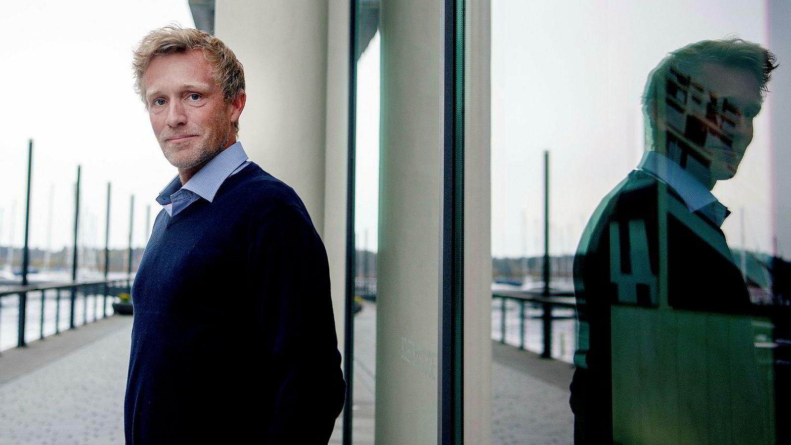 First Generator-forvalter Martin Mølsæter er i ferd med å legge bak seg en krevende måned i aksjemarkedet.