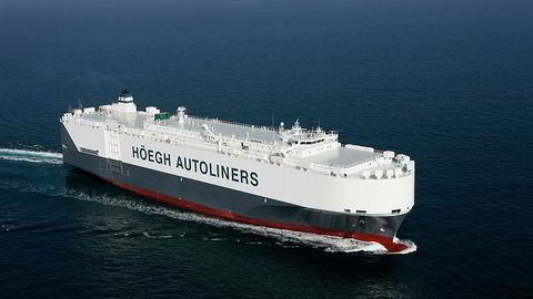 Fjoråret ble en etterlengtet opptur for bilskipsrederiet Höegh Autoliners. Foto: