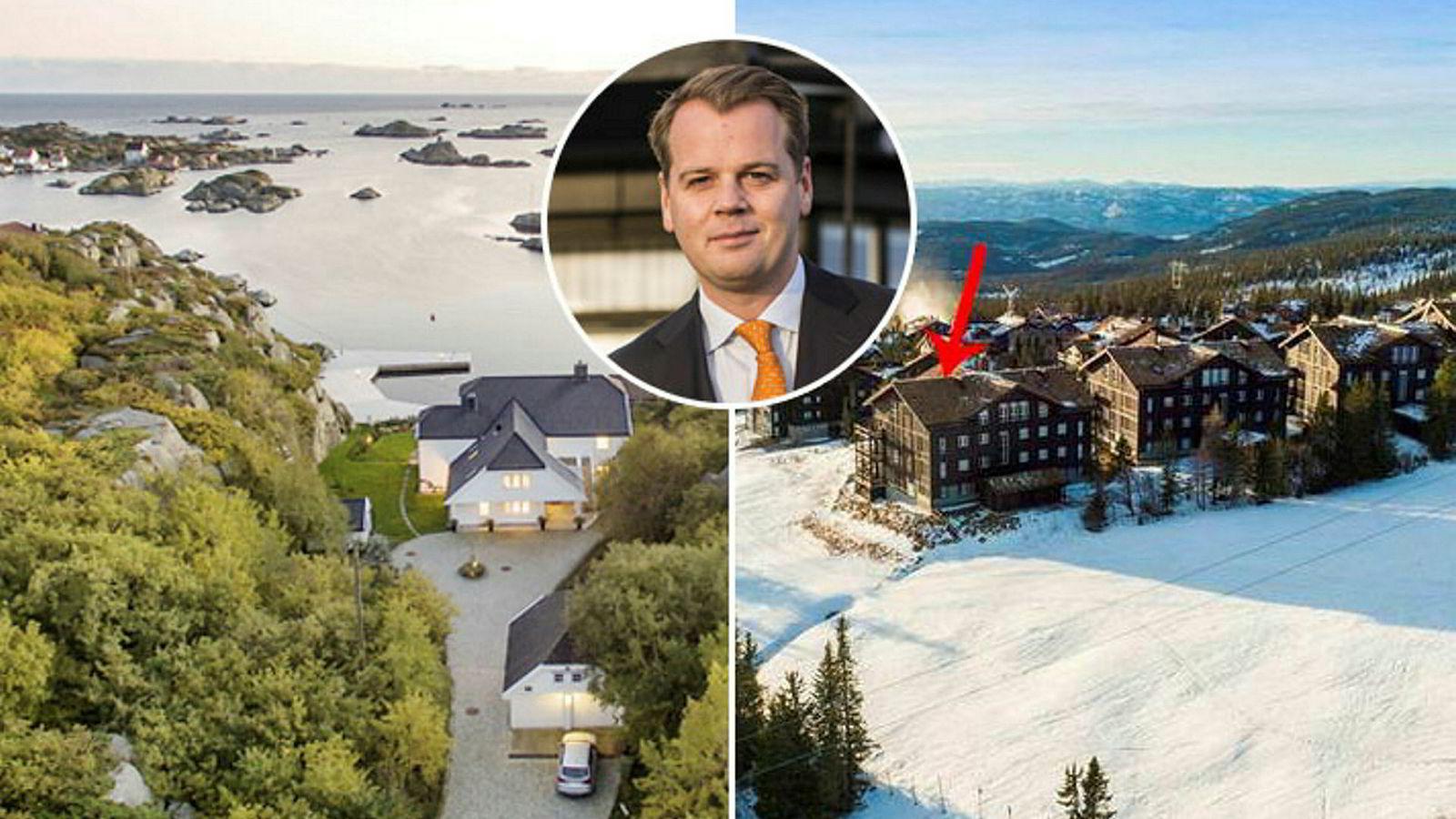 Frontline-sjef Robert Hvide Macleod har kjøpt sterkt rabatterte fritidsboliger for til sammen 41,25 millioner kroner i høst.