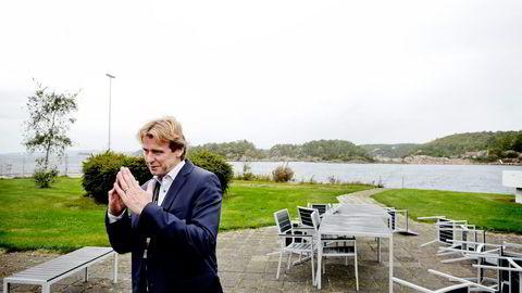 Frode Jensen har tatt på seg en svært utfordrende oppgave som sjef for National Oilwell Varcos virksomhet i Norge og kutter nå ytterligere 265 ansatte.                    Foto: Jacob Buchard