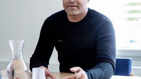 Tommy Sharif, tidligere eier av og sjef for flere dekkselskaper. Foto: Fredrik Bjerknes