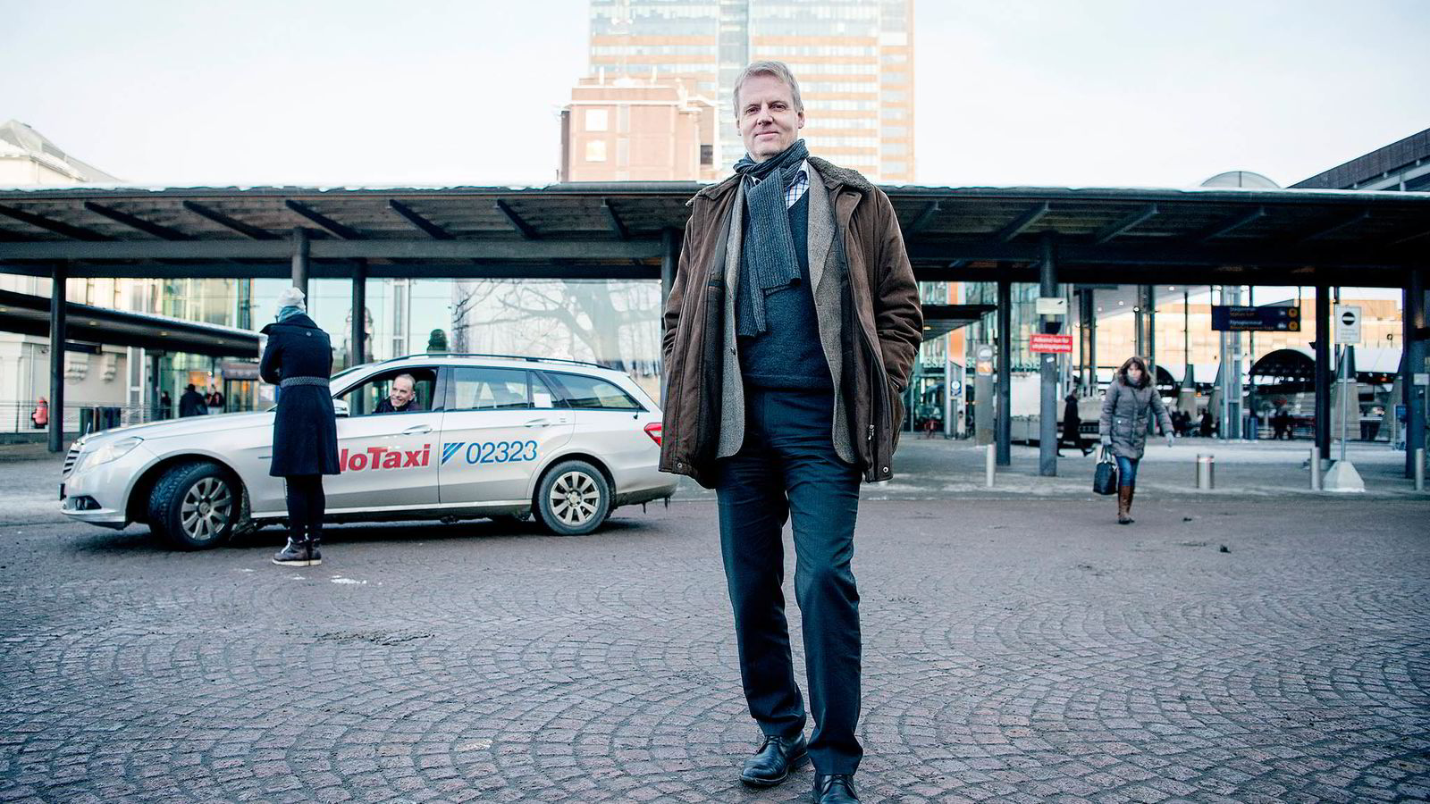 – Det kan hende vi har et mer liberalistisk syn enn gjennomsnittssentralen, svarer konsernsjef Bjørn Rebne (55) i Oslo Taxi på spørsmål om han nå avviker fra konfrontasjonslinjen til Norsk Taxiforbund.