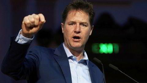 Tidligere leder Nick Clegg for Liberaldemokratene blir PR-mann.