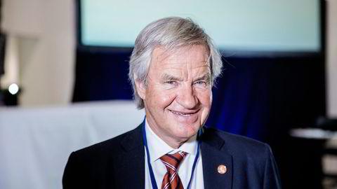 Norwegian-sjef Bjørn Kjos' investeringsselskap tjente 32 millioner kroner på aksjepostene sine i 2015. Foto: Fredrik Bjerknes