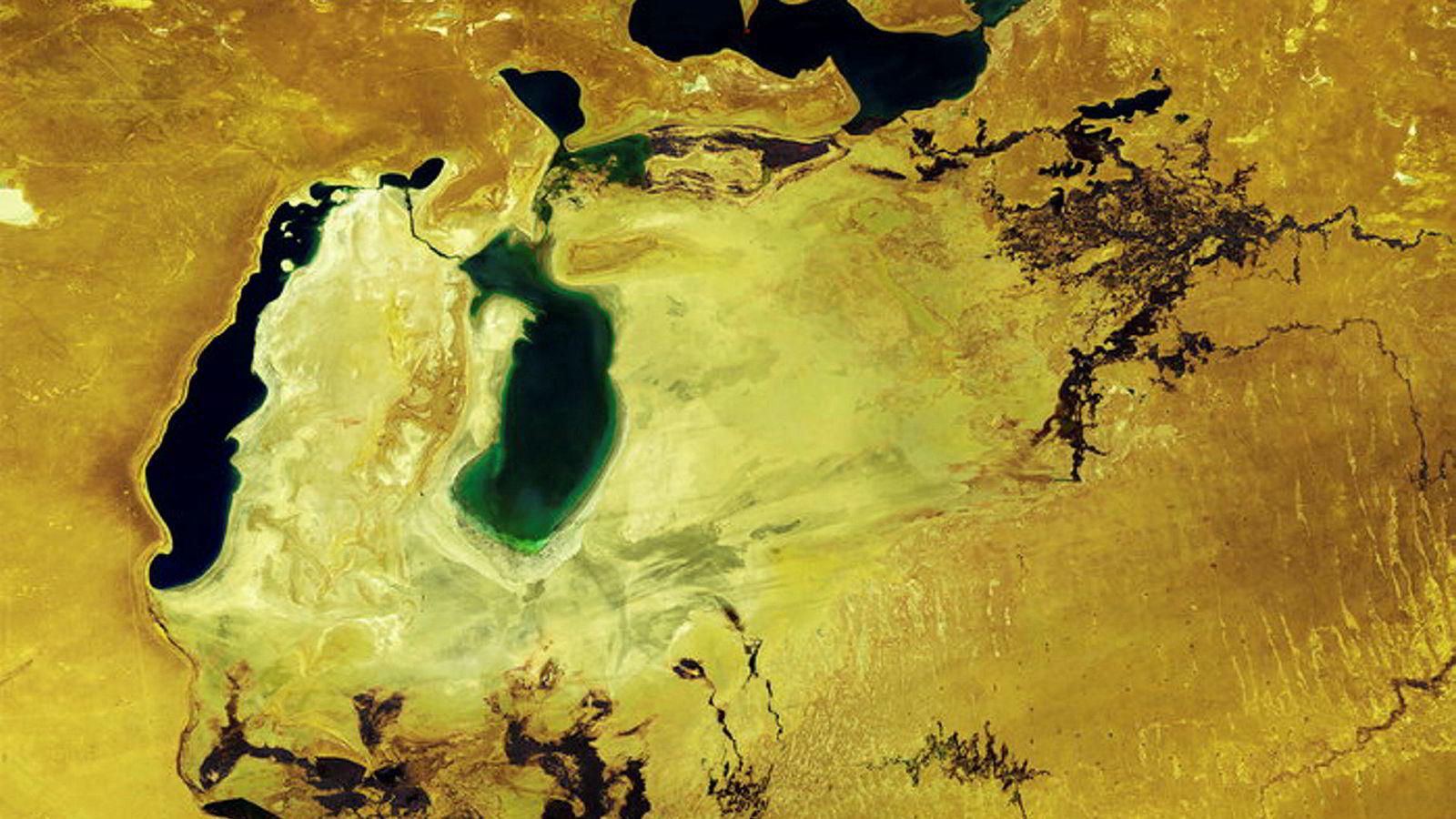 Aralsjøen var en gang verdens fjerde største ferskvannsinnsjø.