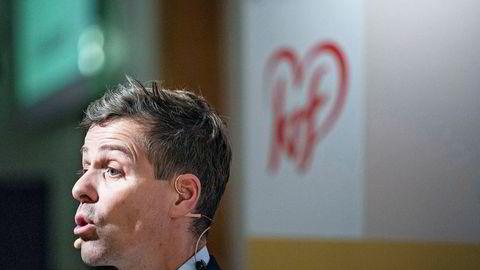 Partileder Knut Arild Hareide veivalg har skapt uro i Krf.
