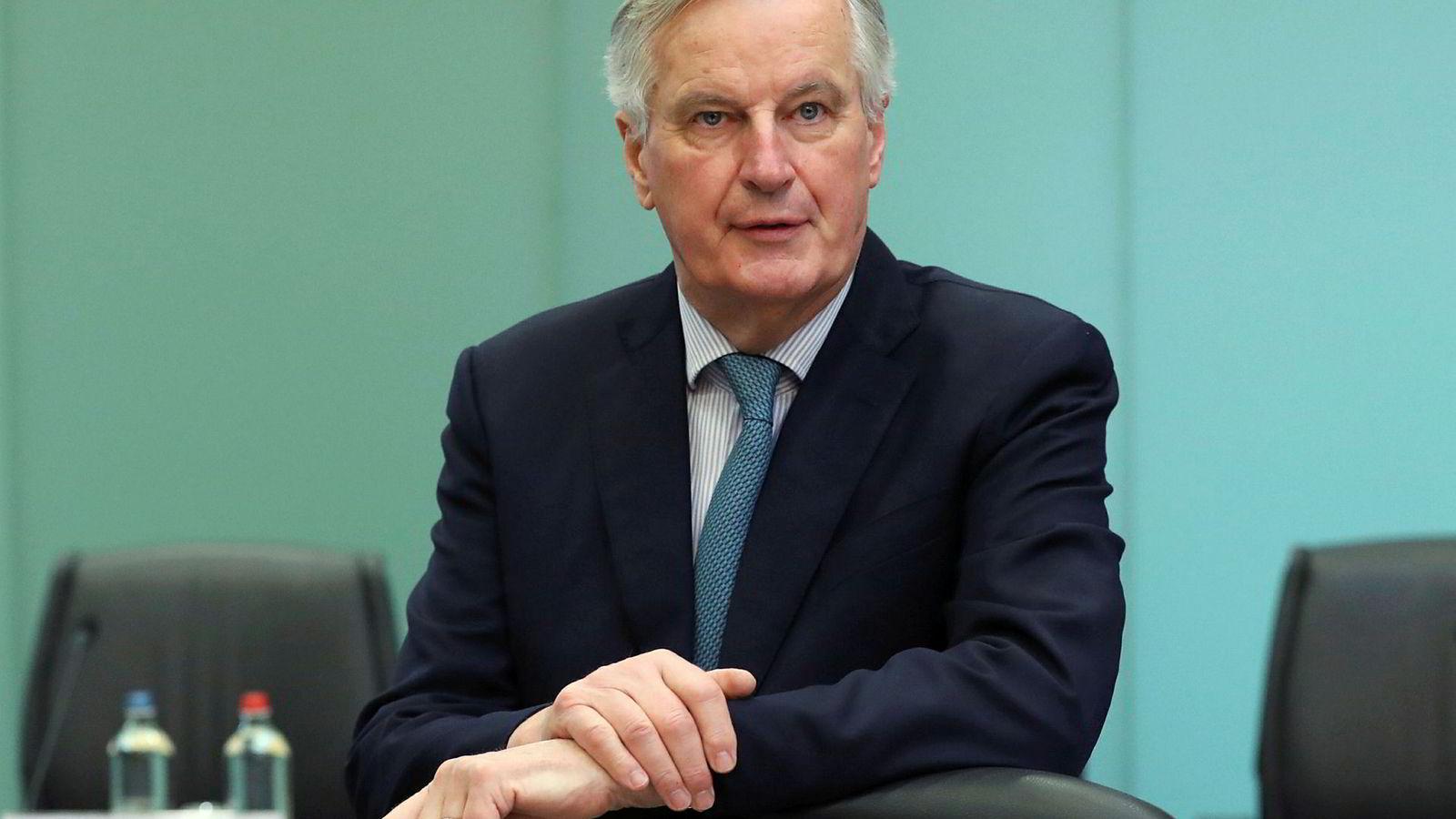 EUs sjefforhandler for brexit Michel Barnier kommer med forsikringer til britene.