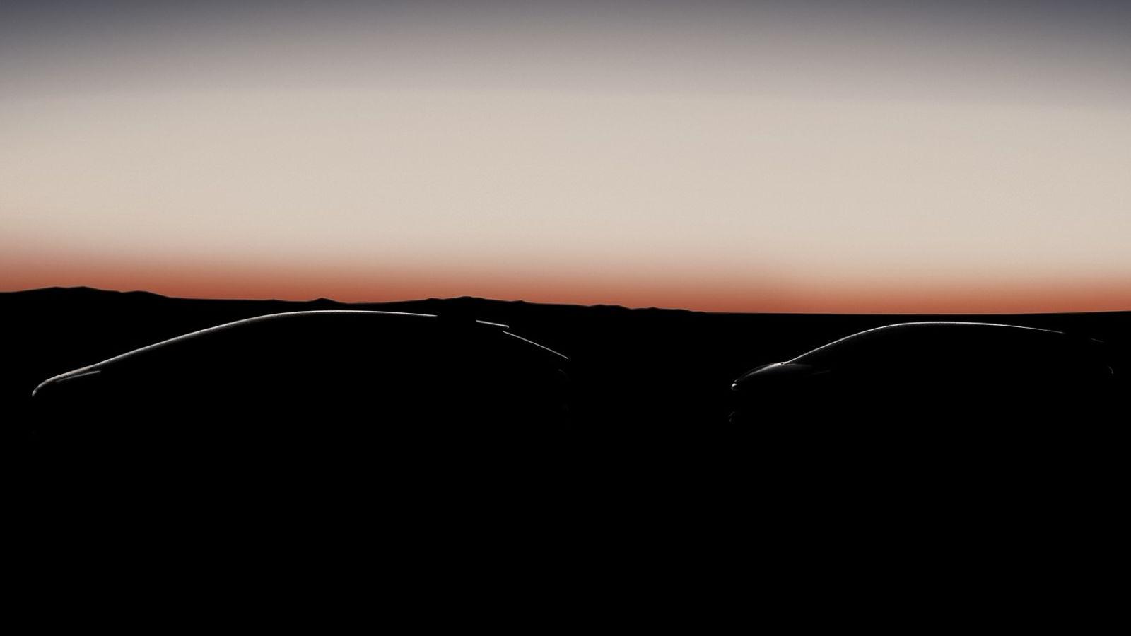 Det finnes ennå ingen bilder av den første planlagte bilen fra Faraday Future. Fotoillustrasjon: Faraday Future.