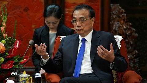 Kina har hatt en sammenhengende årlig økonomisk vekst på over seks prosent siden 1991. Statsminister Li Keqiang innrømmer det kan bli vanskelig å oppnå fremover.