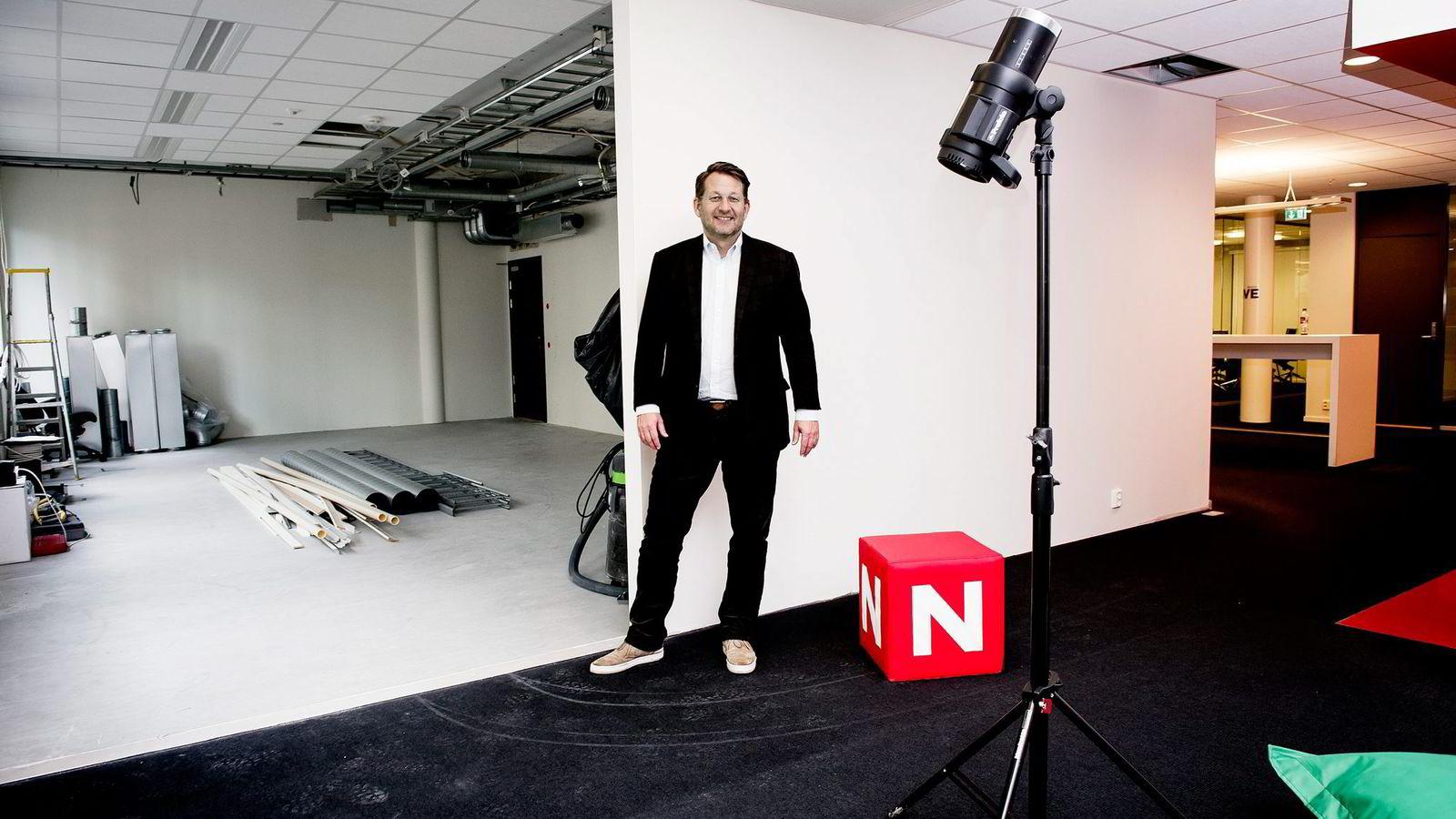 TVNorge-sjef Harald Strømme kom til enighet med Telenor og Canal Digital like før sesongens viktigste tv-helg for Discovery-kanalene. Foto: Gorm K. Gaare