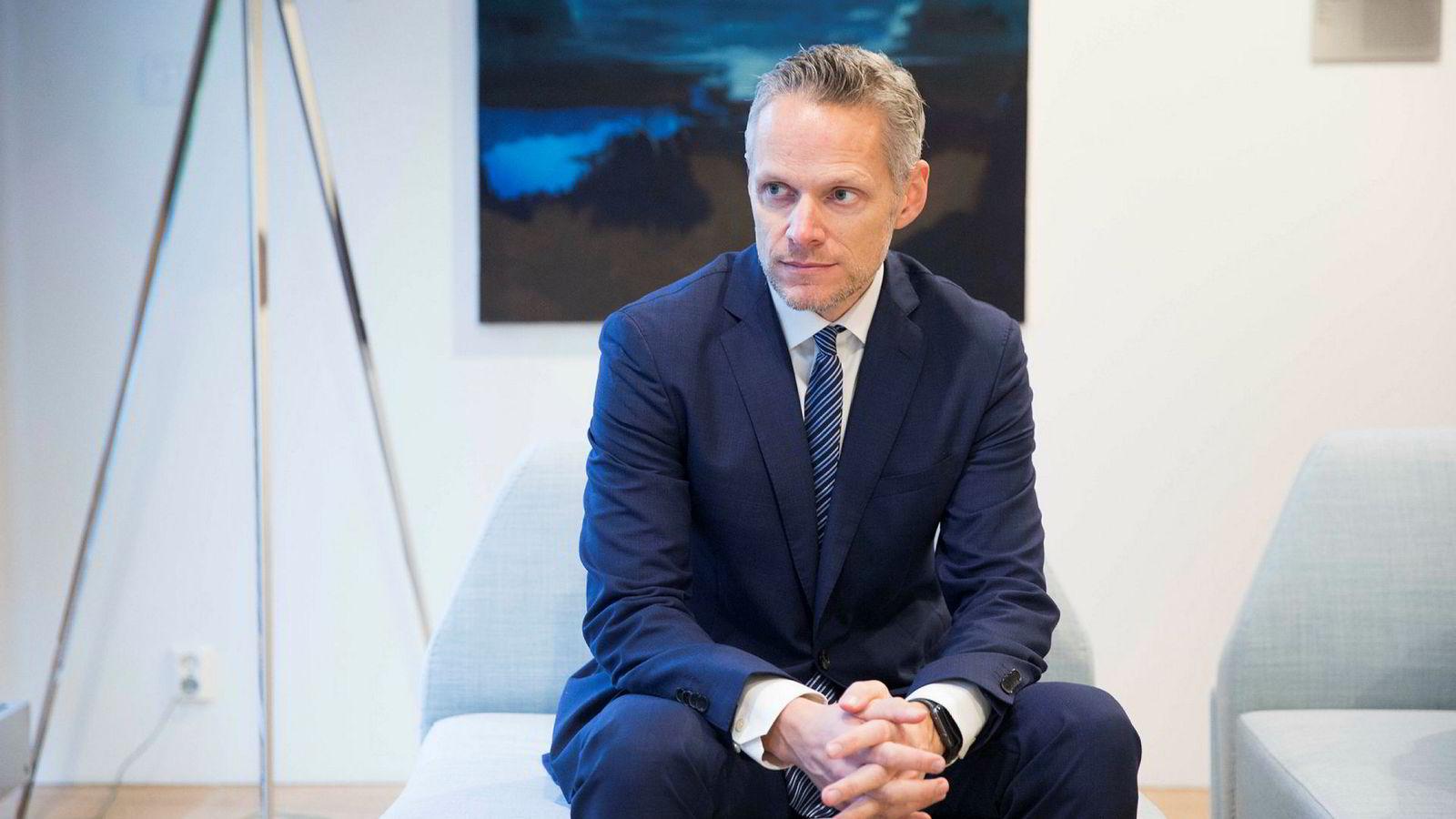 Sjefstrateg i Danske Bank, Christian Lie, har spådd urolige tider i markedet. Han har ikke endret mening etter Trumps twittermeldinger.